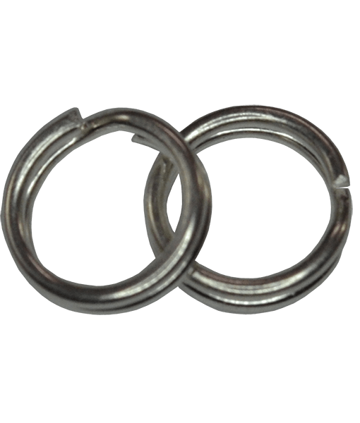 92.5 Sterling Silver 6mm Split Rings