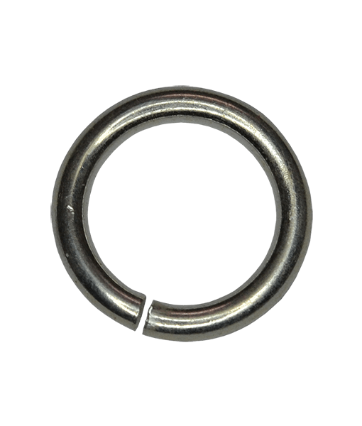 92.5 Sterling Silver 6mm Open Jump Rings