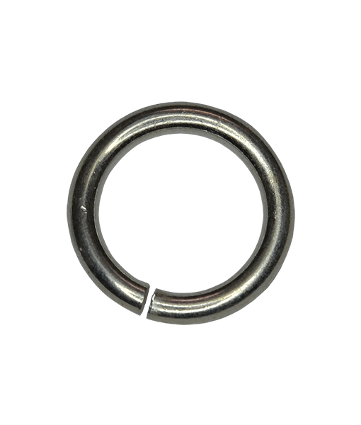 92.5 Sterling Silver 5mm Open Jump Rings