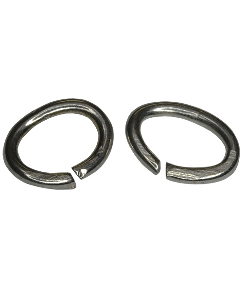 92.5 Sterling Silver 6x4mm Oval Open Jump Rings