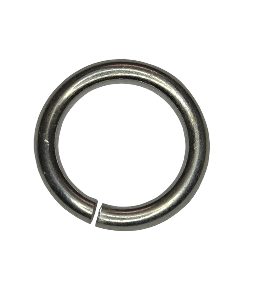 92.5 Sterling Silver 4mm Open Jump Ring