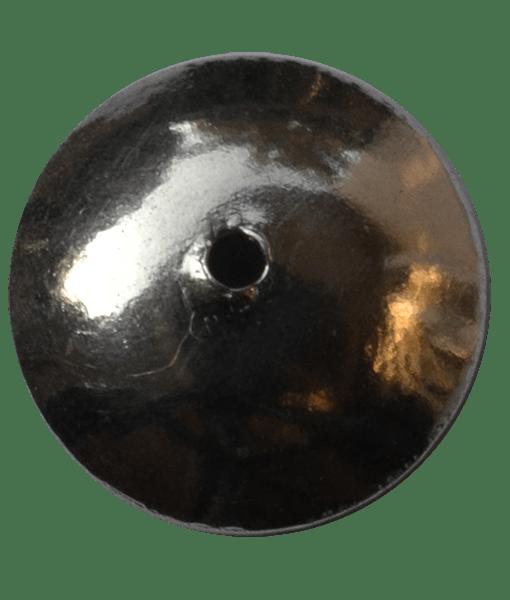 92.5 Sterling Silver Plain Cap-8mm