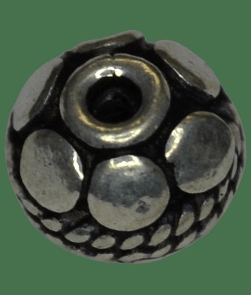 92.5 Sterling Silver 7mm Fine Bead