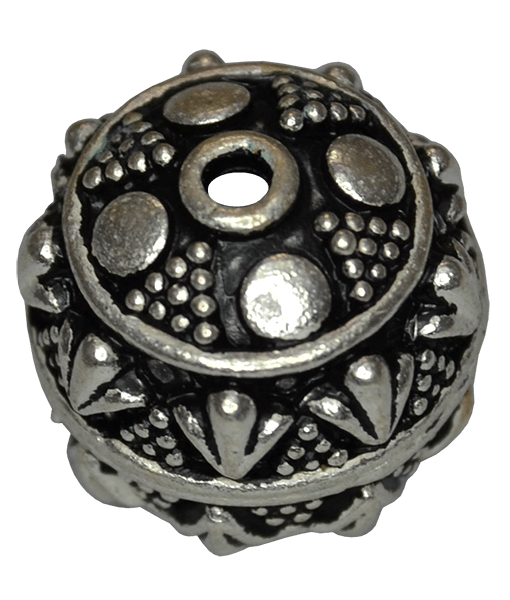 92.5 Sterling Silver Large Fine Bead
