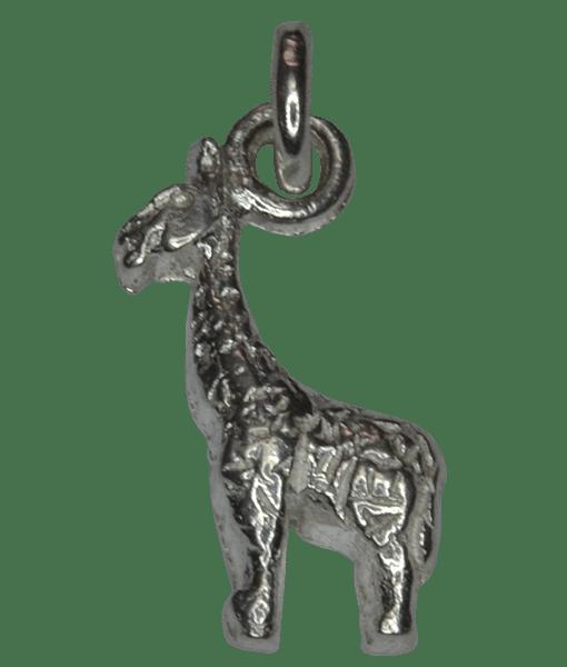 92.5 Sterling Silver Giraffe Charm