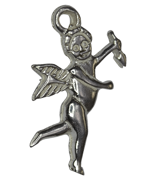 92.5 Sterling Silver Angel Charm
