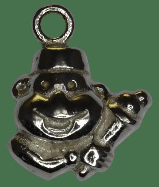 92.5 Sterling Silver Clown Charm