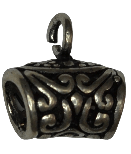 92.5 Sterling Silver Pendant Bail - 10mm