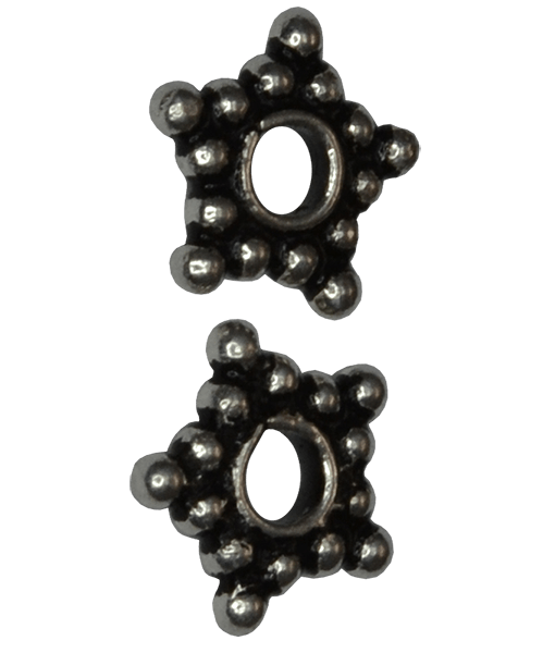 92.5 Sterling Silver Star Spacer