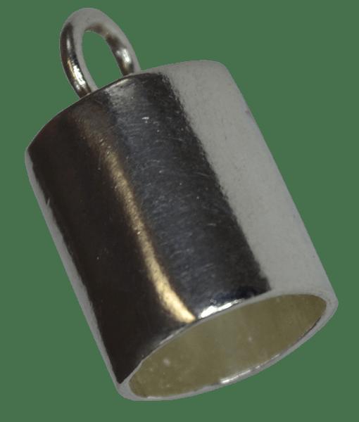 92.5 Sterling Silver 8mm Inner Diameter End Tubes
