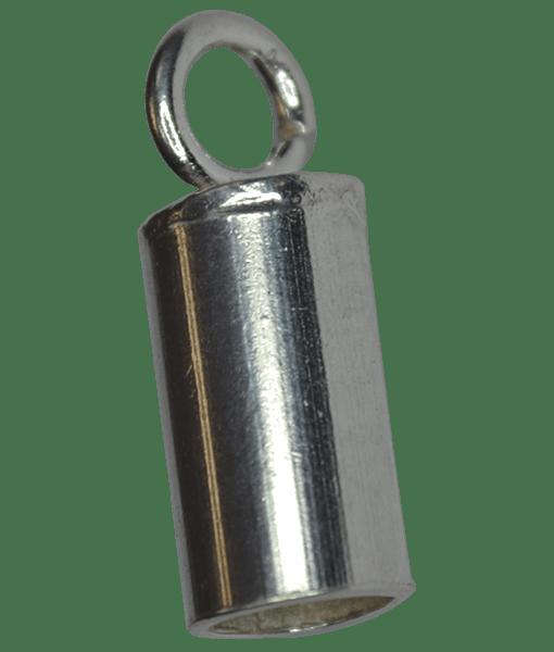 92.5 Sterling Silver 2.2mm Inner Diameter End Tubes