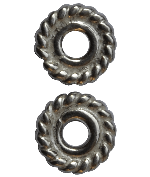 92.5 Sterling Silver 5mm Shiny Tyre Spacer