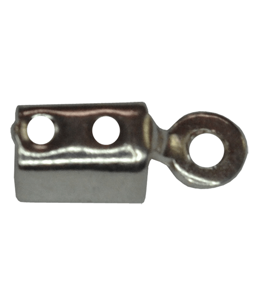 92.5 Sterling Silver 1mm End Clips