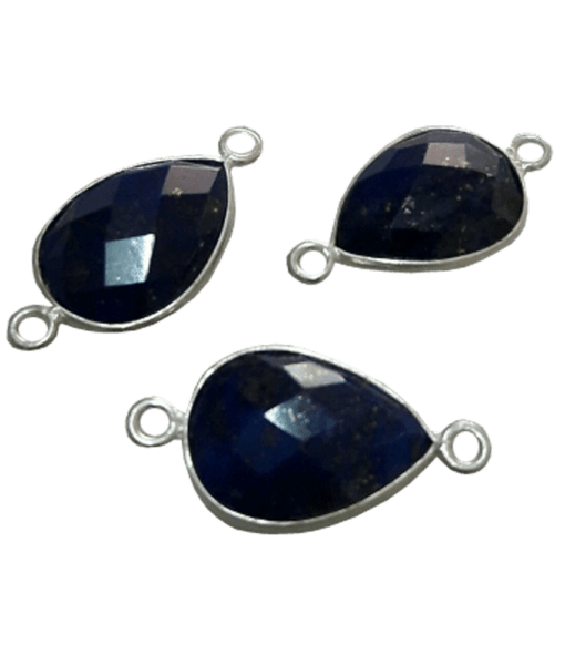 Sterling Silver Lapis Drop Connector