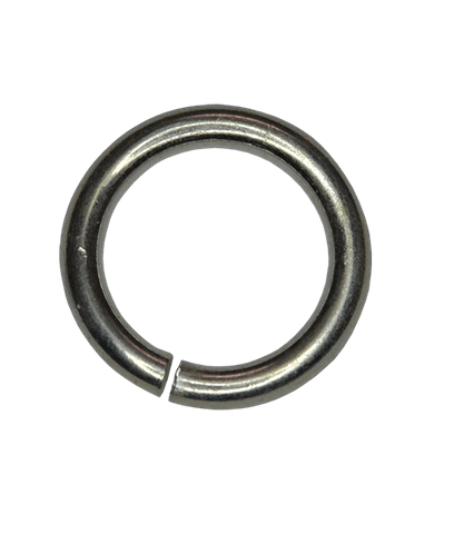 92.5 Sterling Silver 4mm Open Jump Ring Golden