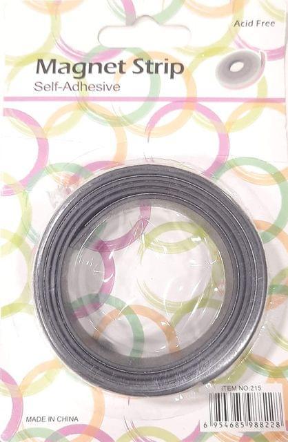 Magnet Strip Self Adhesive, Magnets 2cm x 1 meter Pack of 1