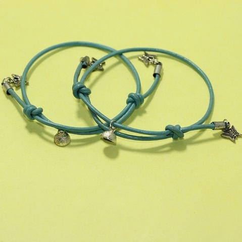 Couples Matching Bracelets Magnetic His Hers Bracelets Braided Leather Rope Bracelet With Magnetic Bells Vows Of Eternal Love Charms For Women Men