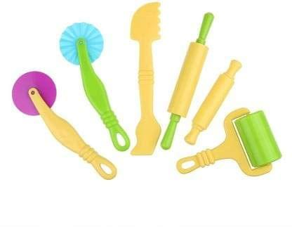 Kids Clay Modeling Tools (Set of 6)