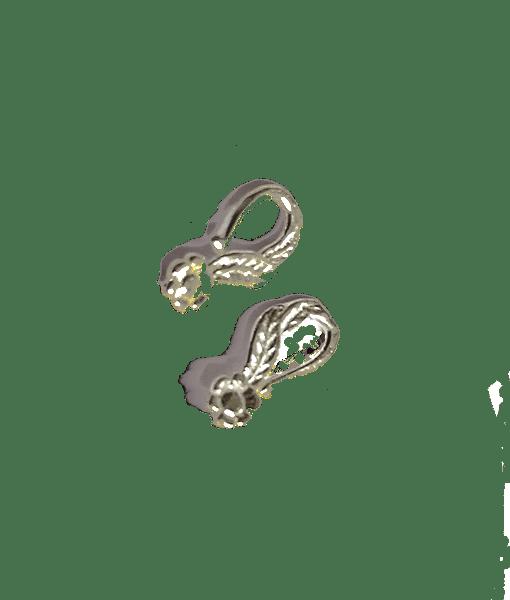Sterling Silver SIDE Loop Earwire