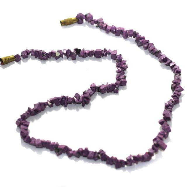 2 Strings Semiprecious Howlite Beads 4mm