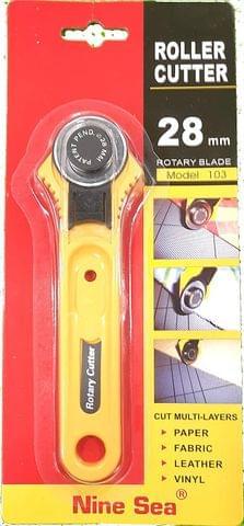 28mm Roller Cutter Fabric Paper Vinyl Circular Cutter Rotary Cutter