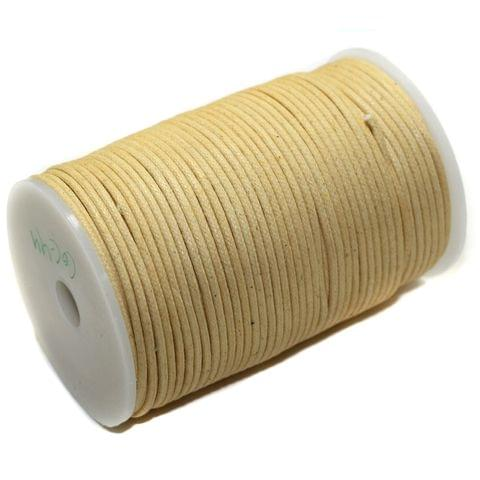 100 Mtrs Jewellery Making Cotton Cord Peach 2mm