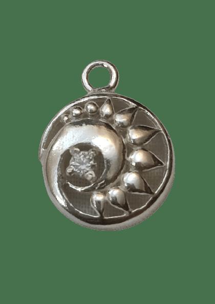 Sterling Silver Chakra Charm