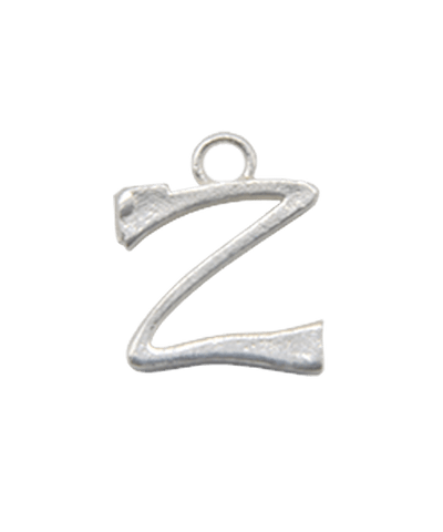 "Sterling Silver Alphabet Charm ""Z"""