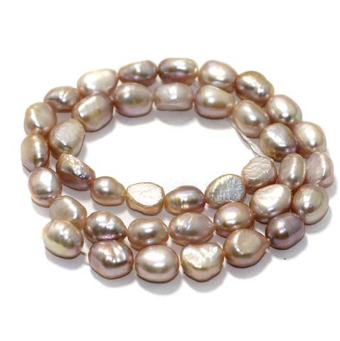 1 strand Baroque Pearls 10x7mm
