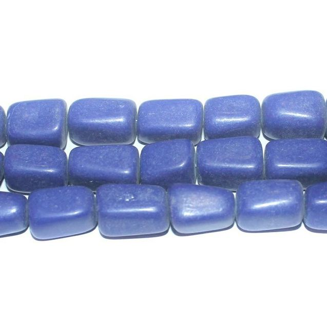 Semiprecious Lapis Tumble Beads