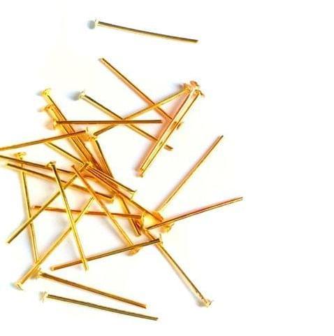 Golden Headpins 2.4 cm