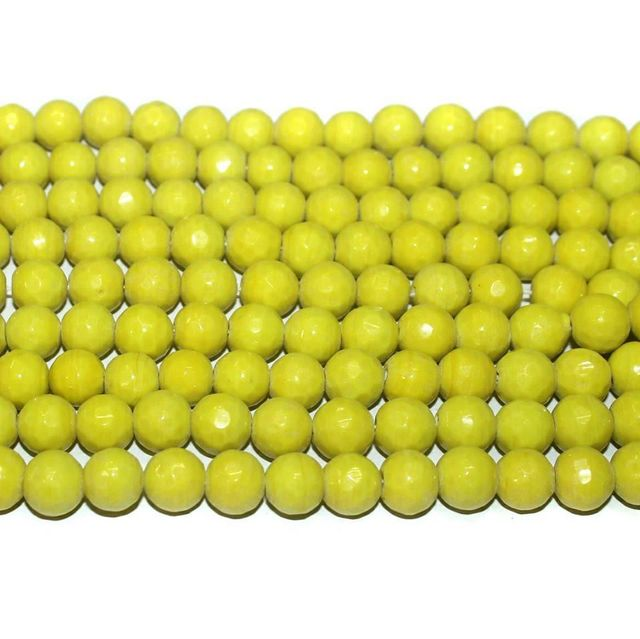 Faceted Glass Beads. 3 string set.