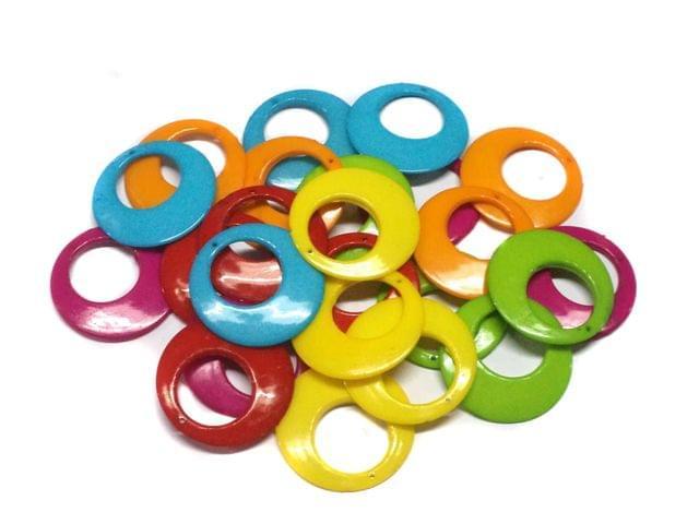 12 Pairs Silk Thread Jewellery Making Chandbalis 40 mm