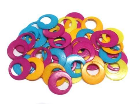 25 Pairs Silk Thread Jewellery Making Chandbalis 28 mm