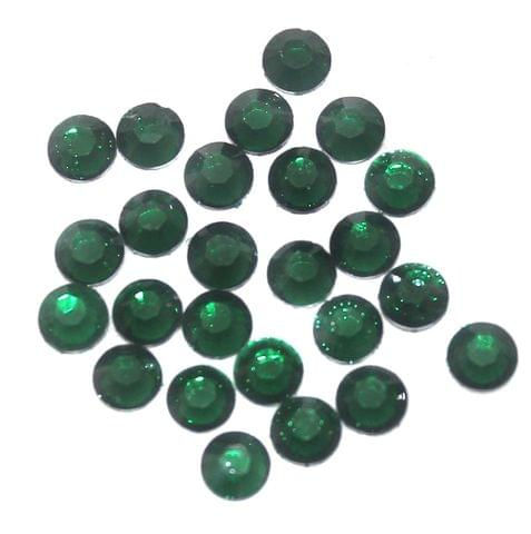 Silk Thread Jewellery Making & Decorating Round Stones 4 mm, Pack Of 50 Gm