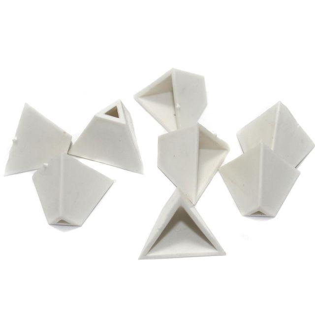 Silk Thread Jewellery Making Triangle Shape Jhumka base, Size 19x16 , Pack Of 50 Pcs