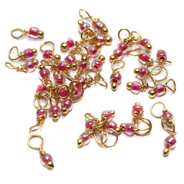 740+ Loreal Seed Beads Pink 2
