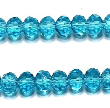 Faceted Crystal RONDELLE Beads 4x3 ,140 pcs