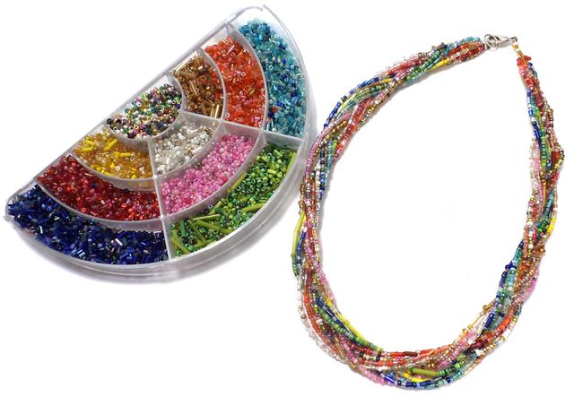 Jewellery Making Mix Seed Beads DIY Kit