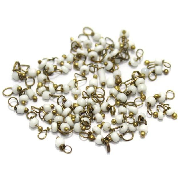 Loreal Seed Beads 1mm White 1400+ Pcs