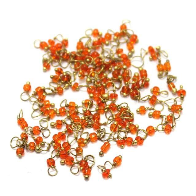 Loreal Seed Beads 1mm Orange 1400+ Pcs