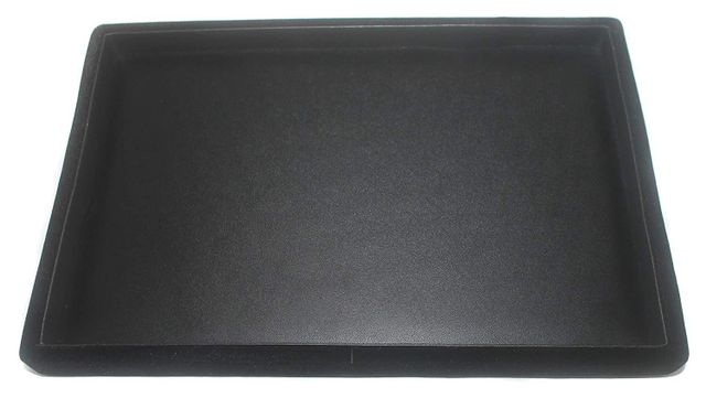 Beading Jewellery Display Tray Black 12x8 Inch, Pack of 3 Pcs.