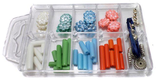 Kids Jewellery Making Beads DIY Kit