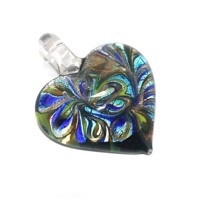 Glass Pendants 46x34 mm
