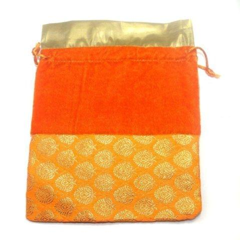 Potli Bags Multi-Color for Jewellery Gift & Craft 23x19cm, Pack of 25 pcs