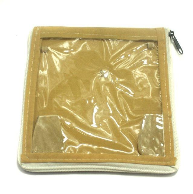 Jewellery Storage Folder Golden 6x6 Inches, Pack of 50 pcs