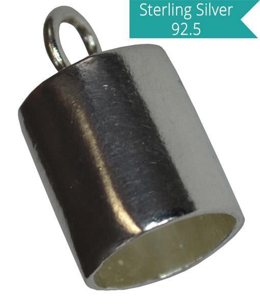 Sterling Silver 5mm Inner Diameter End Tube