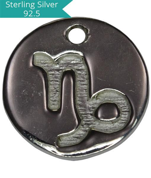 Sterling Silver CAPRICORN Charm