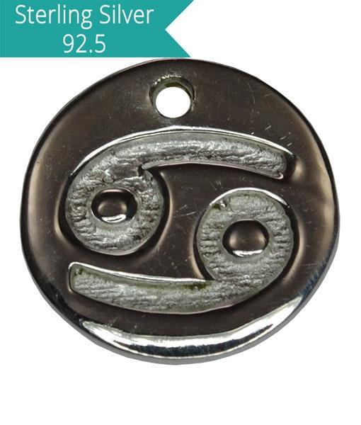 Sterling Silver CANCER Charm