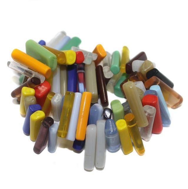 70+ Hanger Beads Assorted 24x6mm